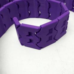 Impresiones 3D gratis Cinturón personalizado de 1004 mm de Jak (impresión en el lugar, diseño MMU), JakG