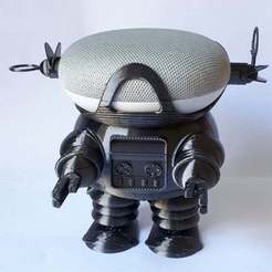 20200926_142131_Medium.jpg Download free 3MF file Google Home Mini Robbie The Robot Holder - Forbidden Planet • 3D printing object, JakG