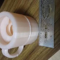 Download free STL Mug with ridges inside - April Fools Cup, JakG