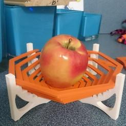 Download free 3D printing files 8-sided spiral bowl mk1, JakG