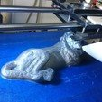 Download free 3D printer files Carved stone lion statue, JakG