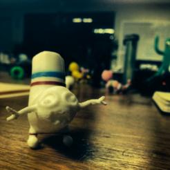 Free Sockman 3D printer file, yourwildworld