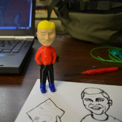 Download free 3D printing templates Luke Yost, yourwildworld
