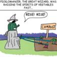 Free Picklomancer, the Pickle Necromancer 3D printer file, yourwildworld