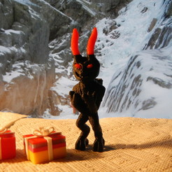 Download free STL file Gruß vom Krampus, yourwildworld