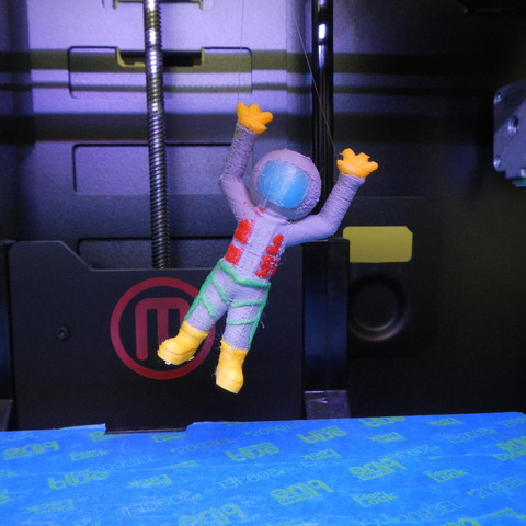Download free 3D printer files Party Spaceman 2015, yourwildworld