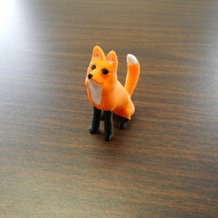 Download free 3D printer designs Fox, yourwildworld