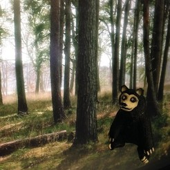Free 3D printer designs Black Bear, yourwildworld