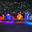 Imprimir en 3D gratis Ciudad de Longyearbyen, yourwildworld