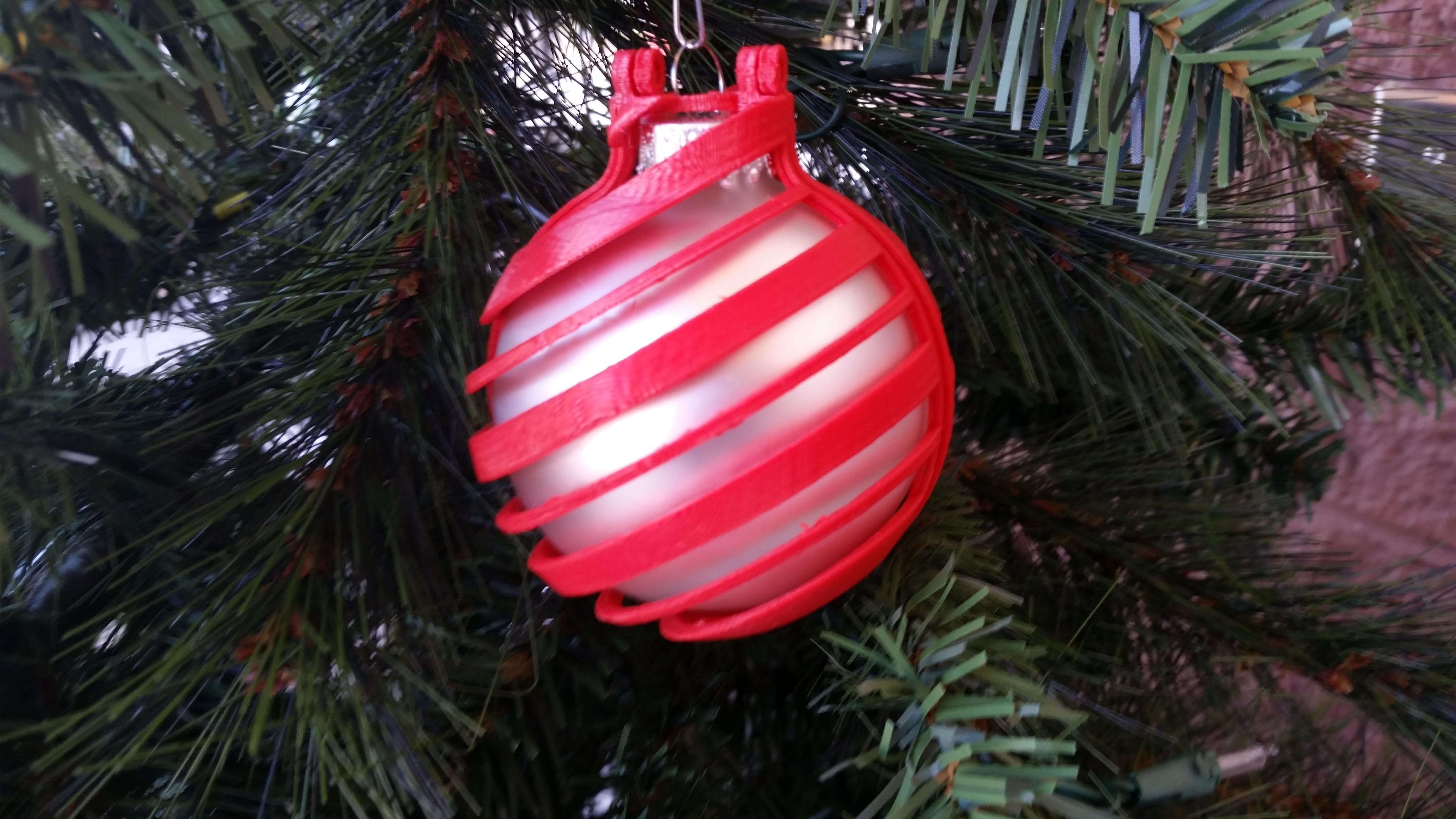 20141107_122635.jpg Download free STL file Decorative Ornament Cage • 3D printable object, Porda