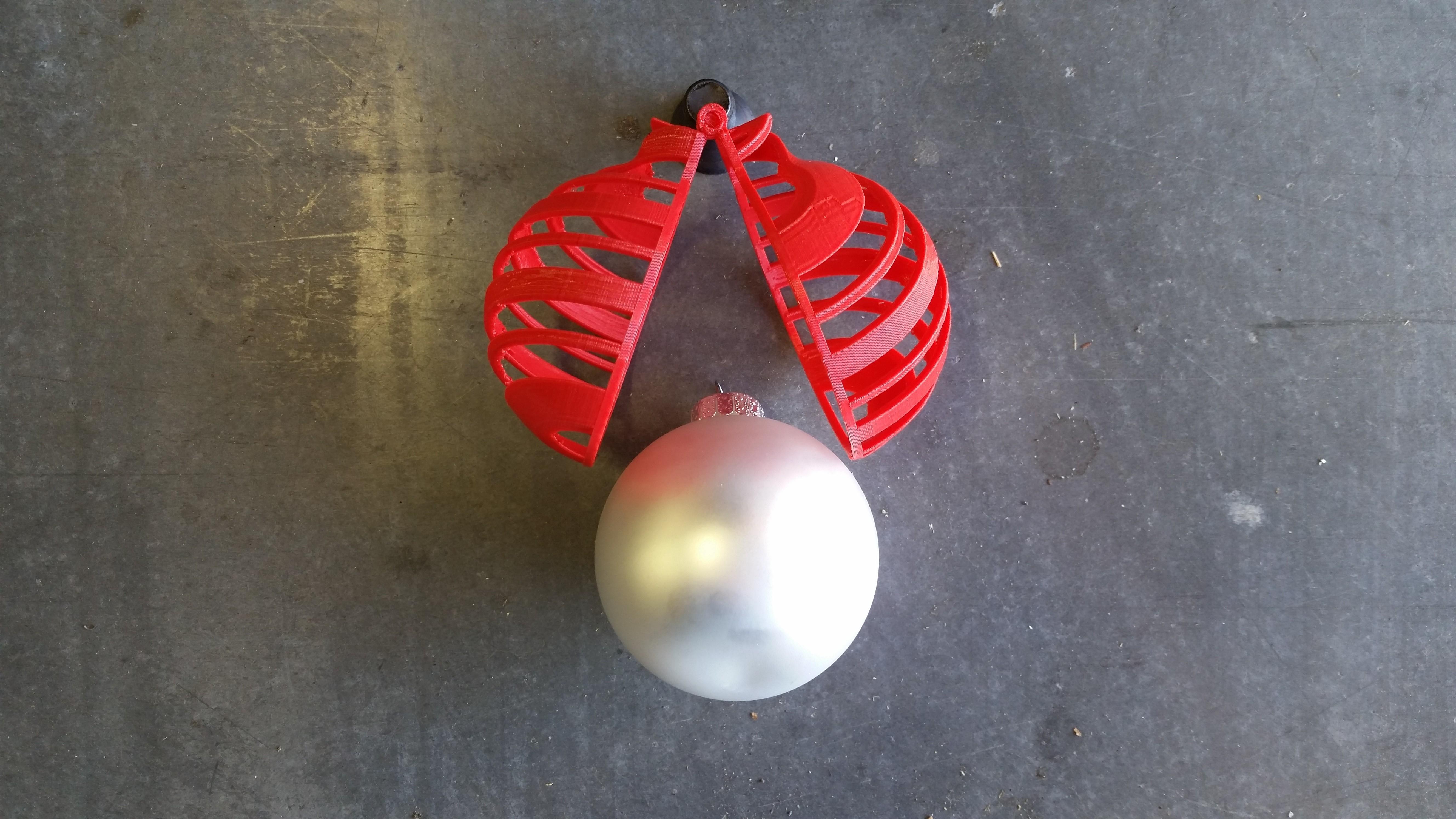 20141107_092552.jpg Download free STL file Decorative Ornament Cage • 3D printable object, Porda