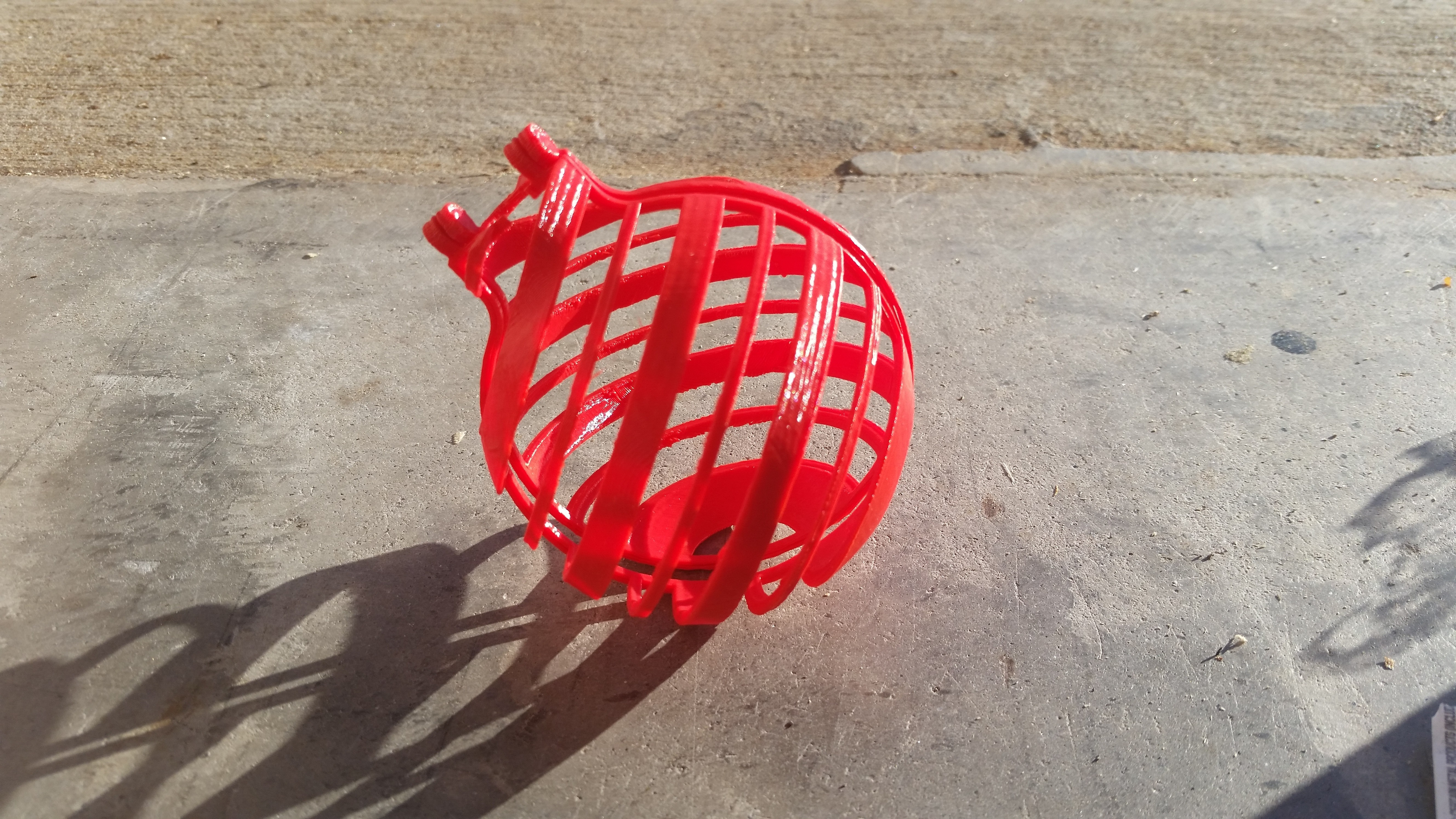 20141107_081408.jpg Download free STL file Decorative Ornament Cage • 3D printable object, Porda