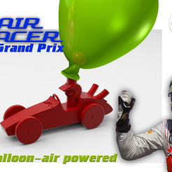 Download free STL file AIR RACER -3D Grand Prix- • 3D printable template, BonGarcon