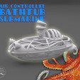 Free AIR-AQUARACER -Balloon-air powered submarine- 3D printer file, BonGarcon