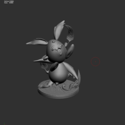 Download STL file Diorama Figure Mokona Sakura Card Captor Anime • 3D printer object, bbakari
