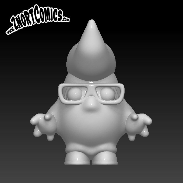 60_z_toy_front.jpg Download STL file Rock my Roll! • 3D print object, ZnortDesigns