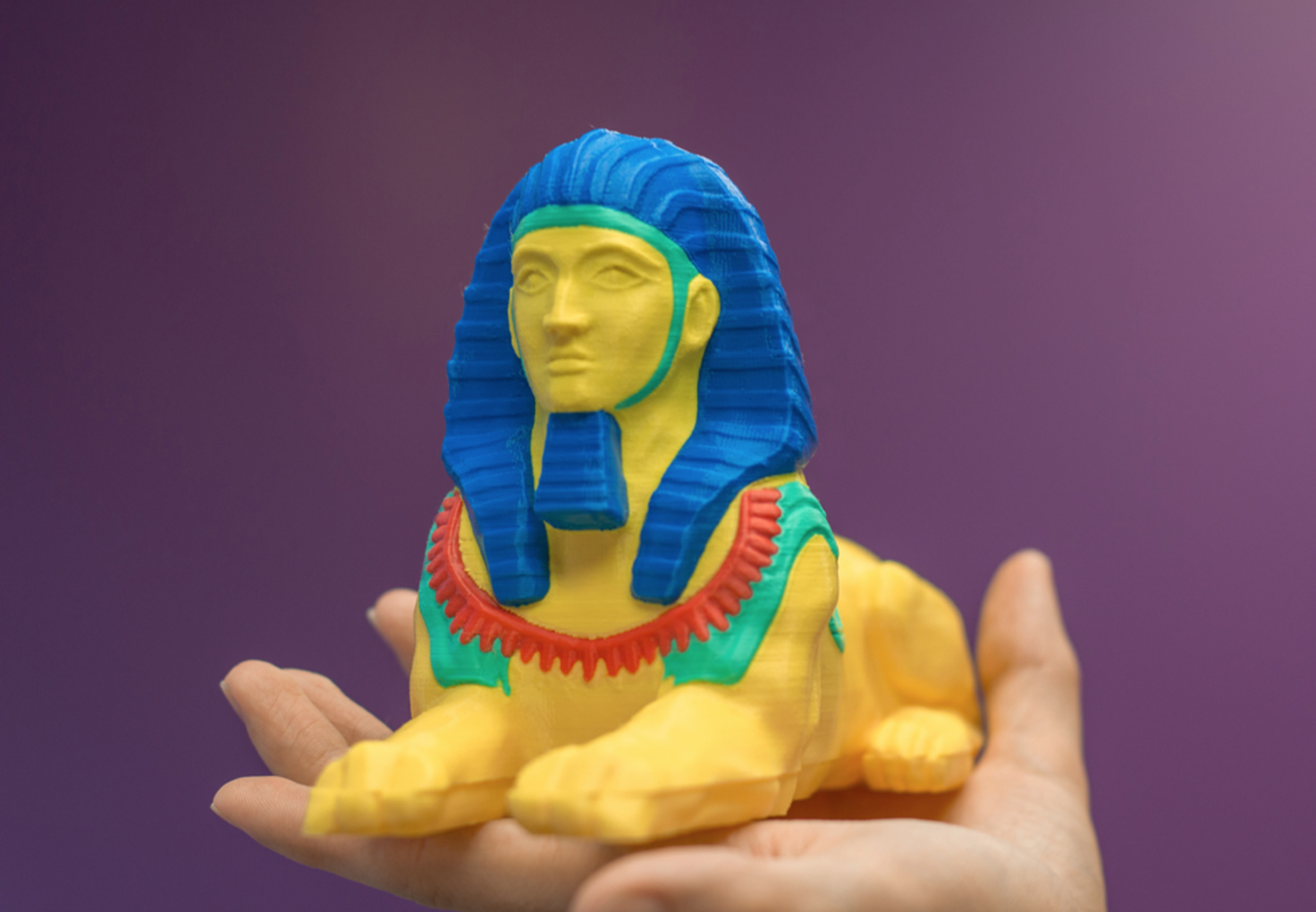 Capture d'écran 2017-03-27 à 18.55.40.png Download free STL file Multi-color Sphinx • 3D printing object, MosaicManufacturing