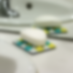 soap_dish_base.STL Download free STL file Multi-Color Soap Dish • 3D printable object, MosaicManufacturing