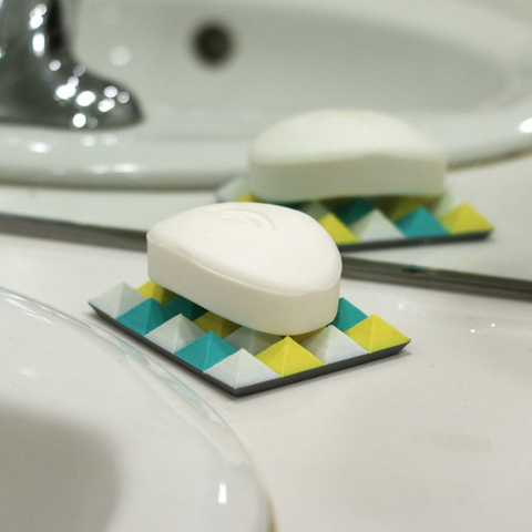 Download free 3D print files Multi-Color Soap Dish, MosaicManufacturing