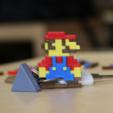 Capture d'écran 2018-03-01 à 10.08.04.png Download free STL file Multi-Color Mario Keychain • Object to 3D print, MosaicManufacturing