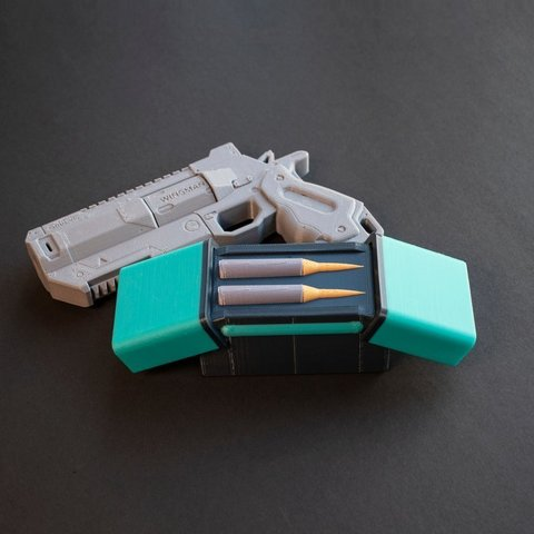 Impresiones 3D gratis Multi-Color Apex Legends - Caja de munición de cartuchos pesados, MosaicManufacturing