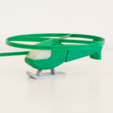 Download free 3D printer templates Multi-Color Flying Helicopter Toy, MosaicManufacturing