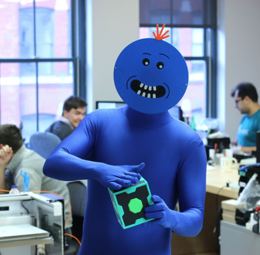 Capture d'écran 2017-11-02 à 16.38.51.png Download free STL file Multi-Color Mr. Meeseeks, Meeseeks Box, Plumbus (Rick and Morty) • 3D printing object, MosaicManufacturing