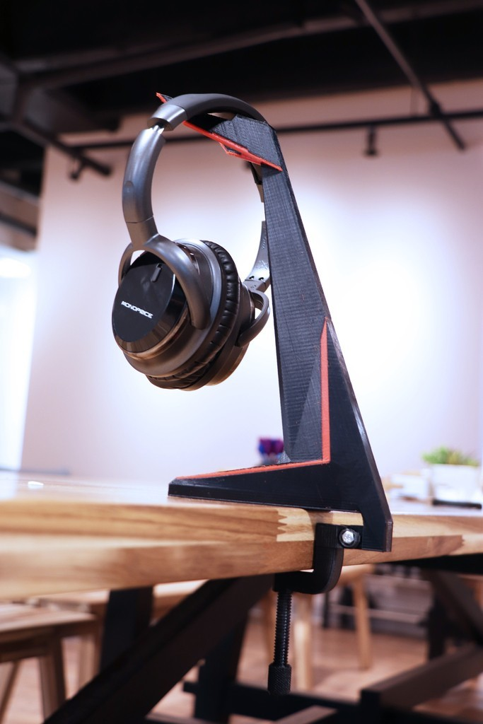 a65e250dcbe646c2e965a92cb5a34abd_display_large.jpg Download free STL file Multi-Color Headphone Stand • 3D printing object, MosaicManufacturing