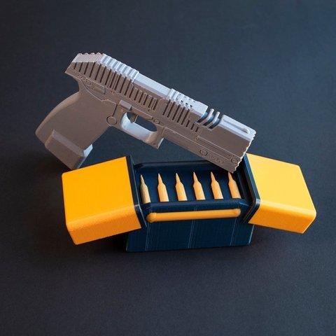 Free 3D printer designs Multi-Color Apex Legends - Light Ammo Box, MosaicManufacturing