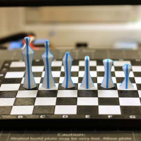 Capture d'écran 2017-10-03 à 14.34.17.png Télécharger fichier STL gratuit Ensemble d'échecs multicolores • Plan imprimable en 3D, MosaicManufacturing