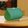 Download free 3D printer files Multi-Color Zip Top Pencil Case, MosaicManufacturing