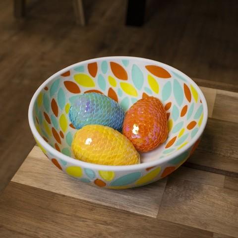 Free STL file Multi-Color Fruit Bowl, MosaicManufacturing