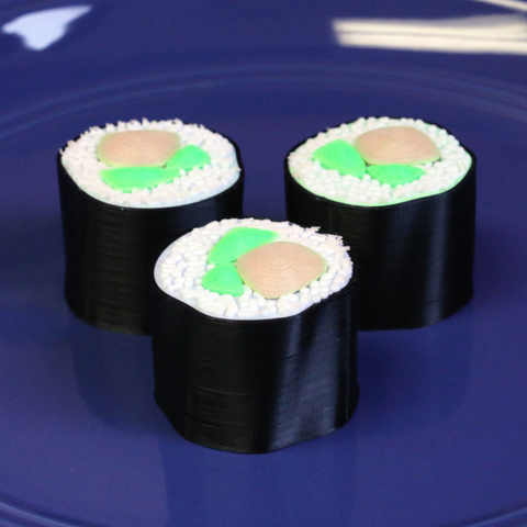 Download free 3D printer templates Multi-Color Sushi, MosaicManufacturing