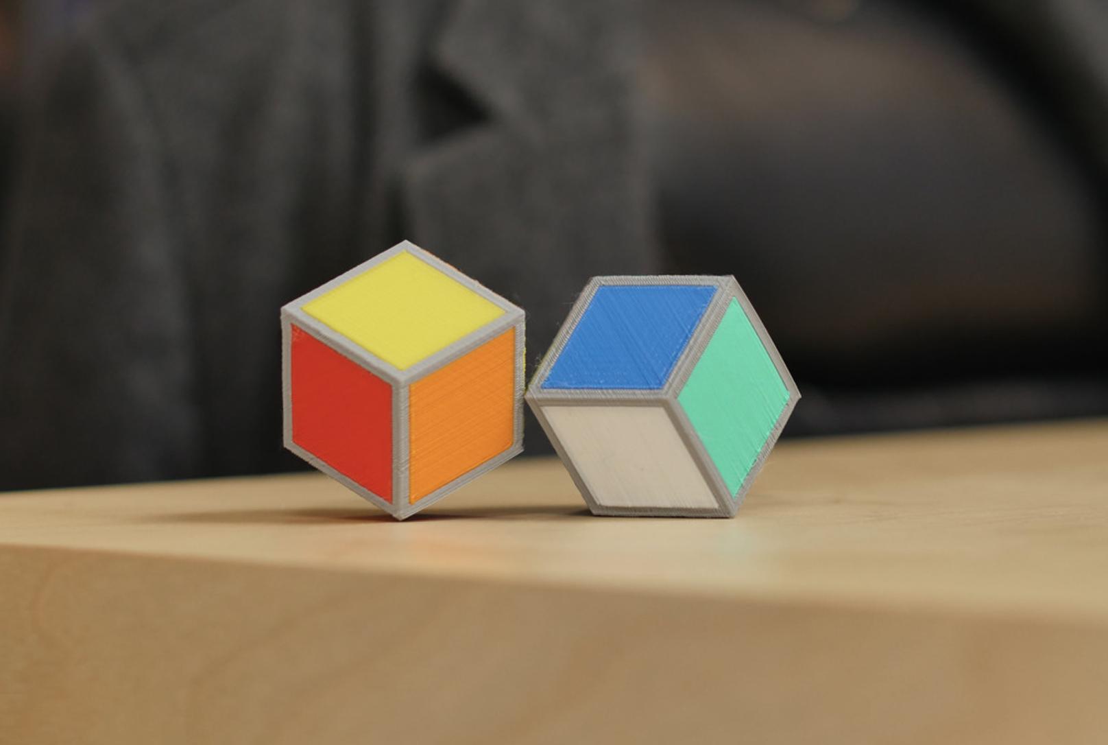 Capture d'écran 2016-12-01 à 10.48.25.png Download free STL file Cube Illusion (Rhombic Dodecahedron) • 3D printer template, MosaicManufacturing