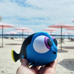 Download free 3D printer designs Multi-Color Baby Dory, MosaicManufacturing
