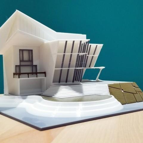 Multi-Color Angular House