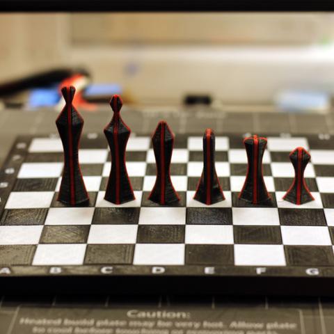 Capture d'écran 2017-10-03 à 14.34.10.png Télécharger fichier STL gratuit Ensemble d'échecs multicolores • Plan imprimable en 3D, MosaicManufacturing