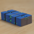 Free 3D printer files Multi-Color Kobayashi Fidget Cube, MosaicManufacturing