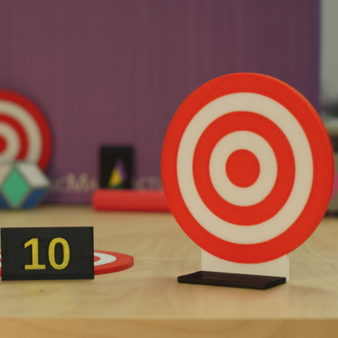 Download free STL file Nerf Dart Target • Design to 3D print, MosaicManufacturing