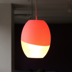Download free STL files Multi-Color OVA Lamp, MosaicManufacturing