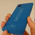 Imprimir en 3D gratis Modelo de teléfono celular, MosaicManufacturing
