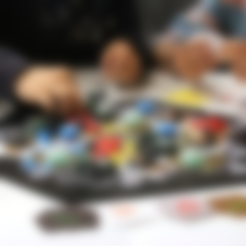 Free STL Settlers in Space (Catan) (Multi-Color), MosaicManufacturing