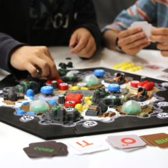 Download free STL Settlers in Space (Catan) (Multi-Color), MosaicManufacturing