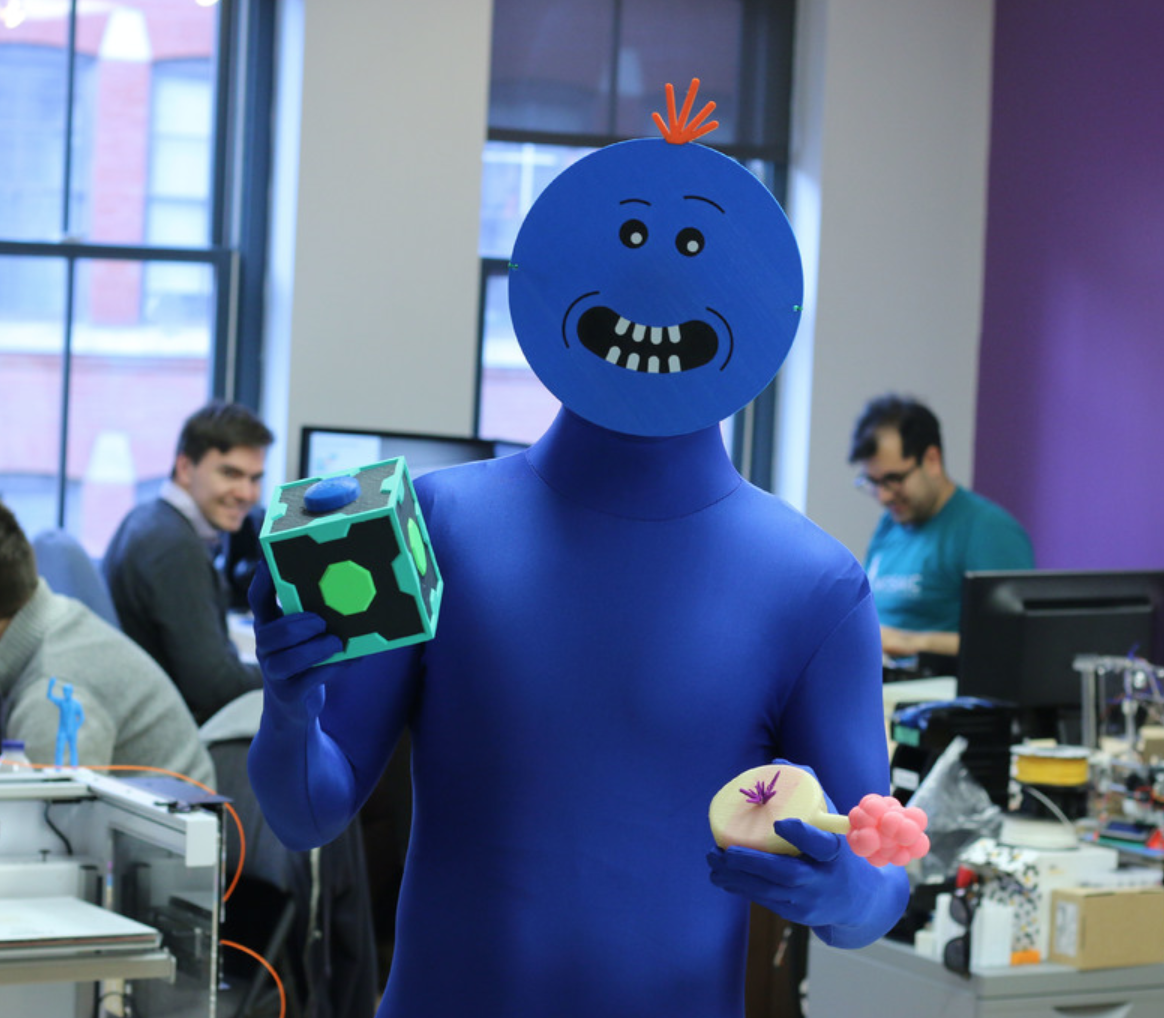 Capture d'écran 2017-11-02 à 16.38.43.png Download free STL file Multi-Color Mr. Meeseeks, Meeseeks Box, Plumbus (Rick and Morty) • 3D printing object, MosaicManufacturing