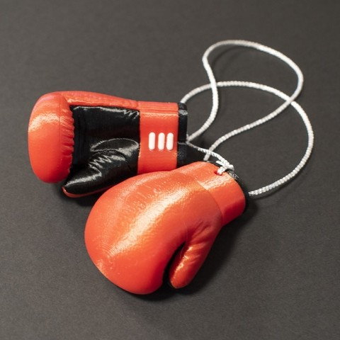 Download free 3D printer model Multi-Color Boxing Gloves, MosaicManufacturing