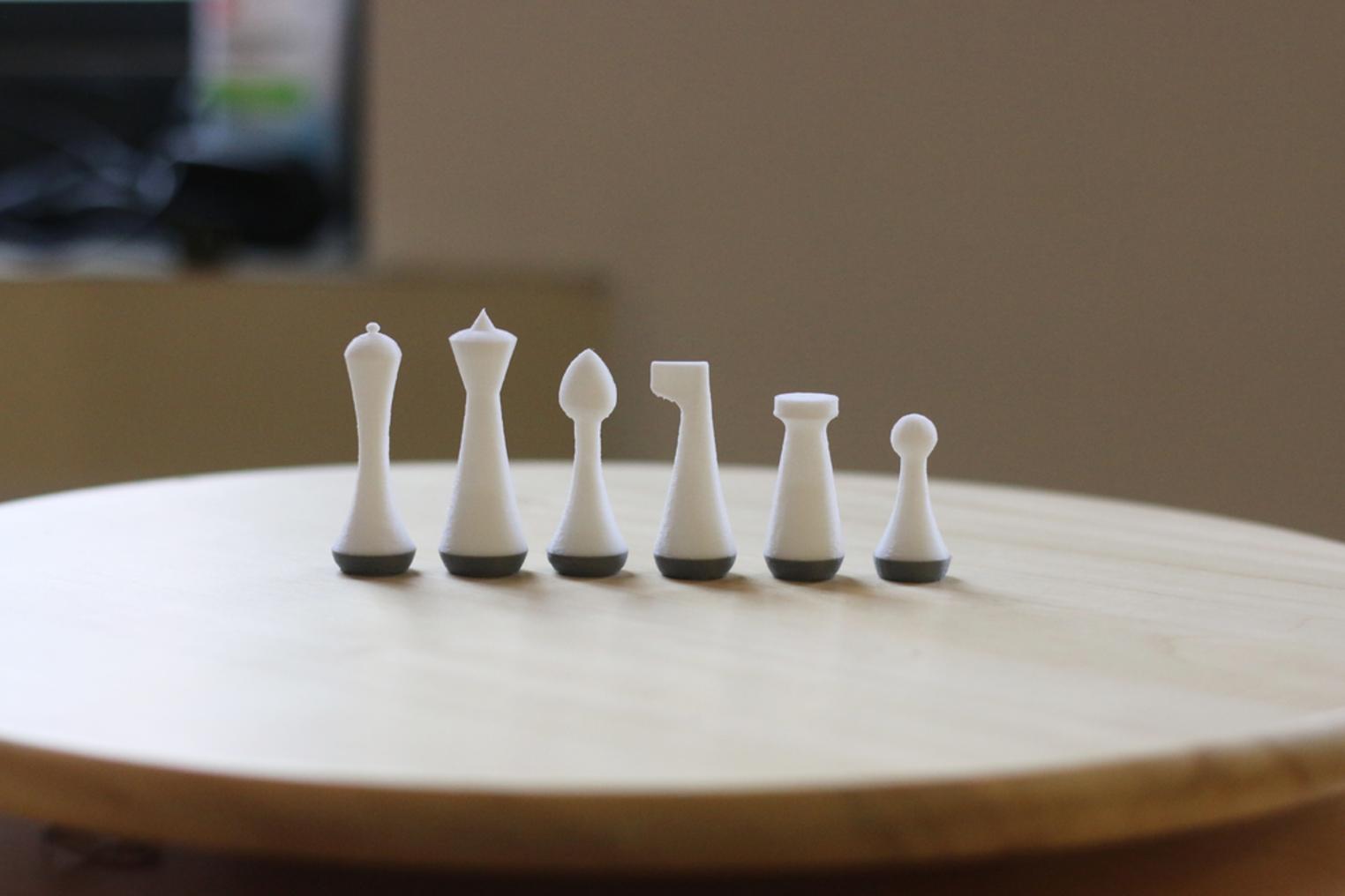 Capture d'écran 2017-09-01 à 11.42.31.png Télécharger fichier STL gratuit Ensemble d'échecs moderne multicolore • Modèle pour imprimante 3D, MosaicManufacturing