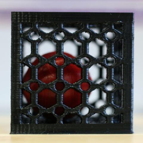 Capture d'écran 2017-07-03 à 12.52.02.png Download free STL file Multi-Color Ball in a Cube • 3D printer model, MosaicManufacturing