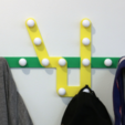 Download free 3D print files Multi-Color Subway Map Coat Rack, MosaicManufacturing