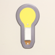 Multi-Color Light Bulb Switch Cover 3D Printing Cults 3D printer file STL.png Download free STL file Multi-Color Light Bulb Switch Cover • 3D printing object, MosaicManufacturing