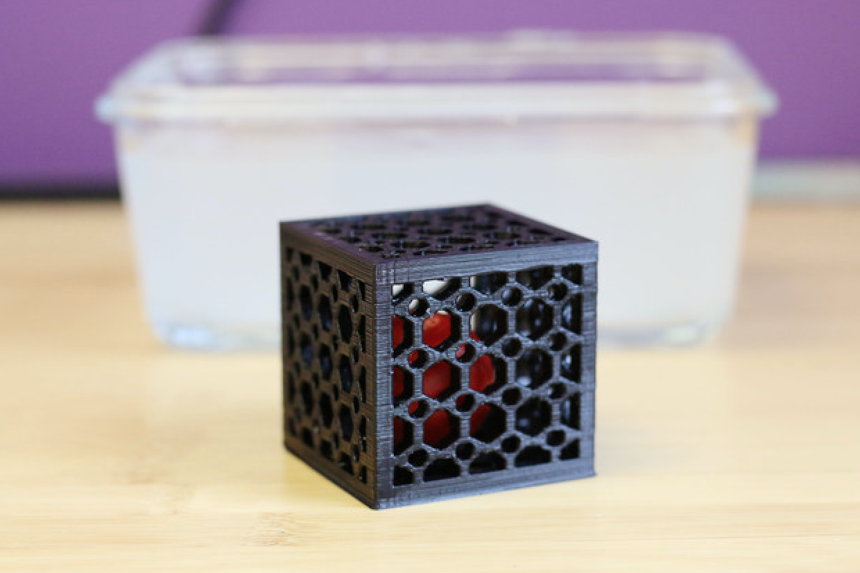 Capture d'écran 2017-07-03 à 12.52.11.png Download free STL file Multi-Color Ball in a Cube • 3D printer model, MosaicManufacturing